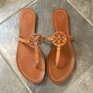 Like New Tory Burch Gabrielle Flat Thong Sandal